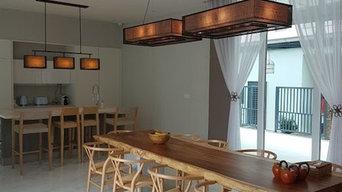 PIKU Dining Room Pendant Lamp