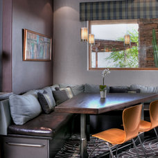 Contemporary Dining Room by Dorado Designs