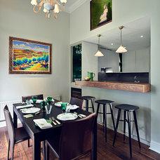 Contemporary Dining Room by Marco Joe Fazio, LBIPP