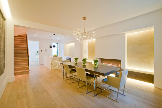 Contemporary Dining Room by Perfect Integration Ltd