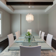 Modern Dining Room by Connie Anderson Photography