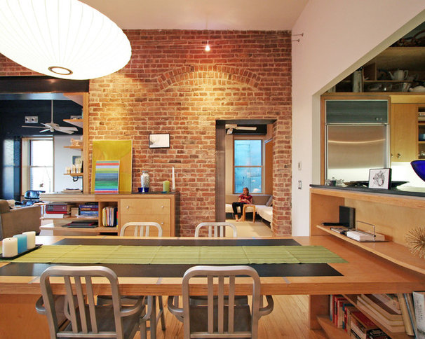 Industrial Dining Room by Resolution: 4 Architecture