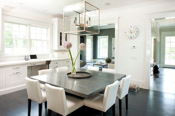 Contemporary Dining Room by James Schettino Architects