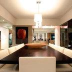 Nfid Modern Modern Dining Room Calgary By Natalie