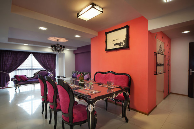 Dining Room by Vegas Interior Design Pte Ltd