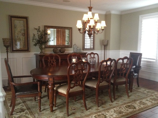 Traditional Dining Room by Monique Jacqueline Design