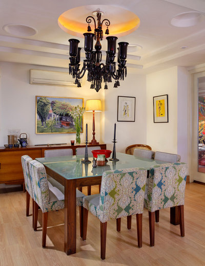 Contemporary Dining Room by Mrigank Sharma Photography