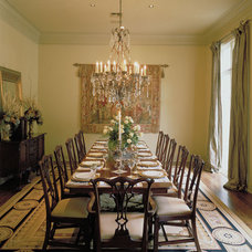 Traditional Dining Room by House Plans and More