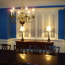 Traditional Dining Room by Gotcha Covered Window Fashions of Richmond, VA