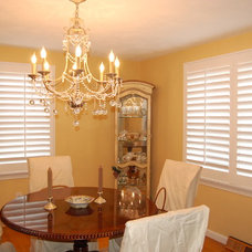 Traditional Dining Room by Shades IN Place