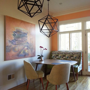 Playful Game & Dining Nook by Kimball Starr Interior Design