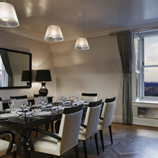 Contemporary Dining Room by Gerner Kronick + Valcarcel, Architects, DPC