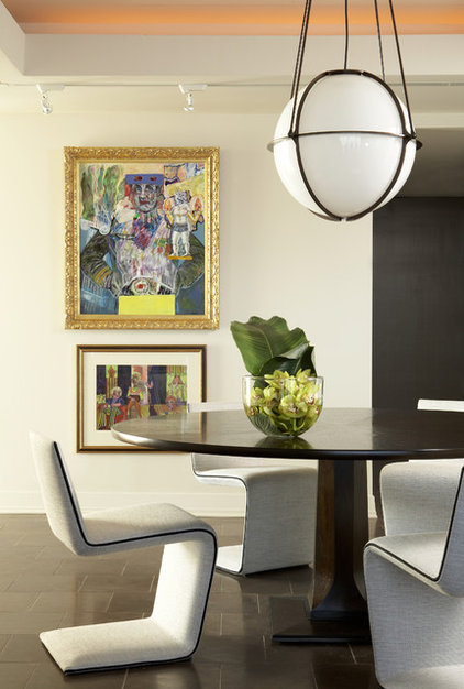 Modern Dining Room by Niki Papadopoulos