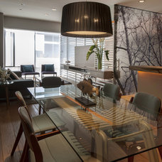 Eclectic Dining Room by vgzarquitectura y diseño sc