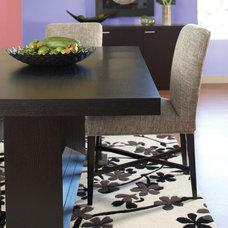 Contemporary Dining Room by Plummers Furniture
