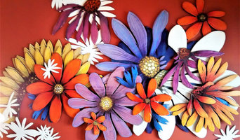 Plywood Wall Sculpture: You Are a Wildflower