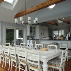 Traditional Dining Room by Barr Builders