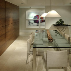 contemporary dining room by poggi design
