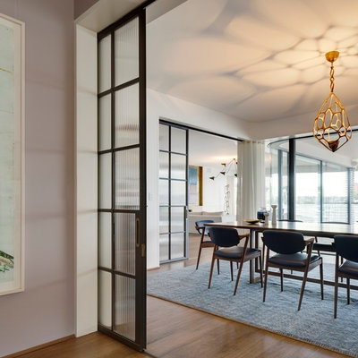 Contemporary Dining Room by Decus Interiors