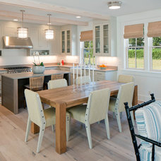 Beach Style Dining Room by Francesca Owings Interior Design