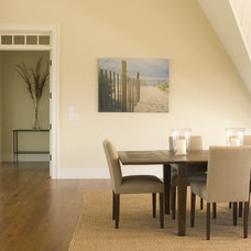 Modern Dining Room by Christian C. Carey, Architect, P.C.