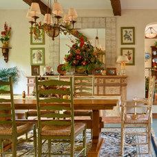Traditional Dining Room by HartmanBaldwin Design/Build