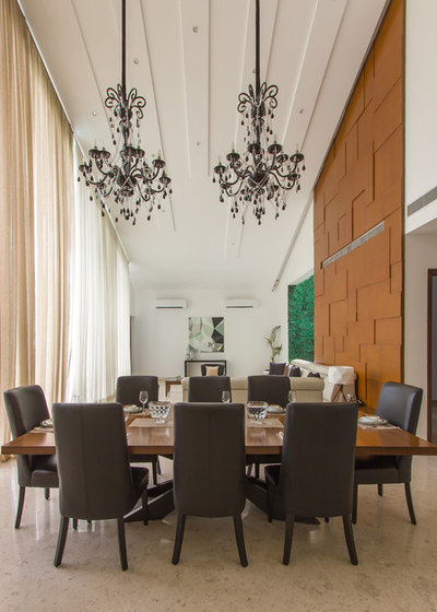 Contemporary Dining Room by Shinescapes