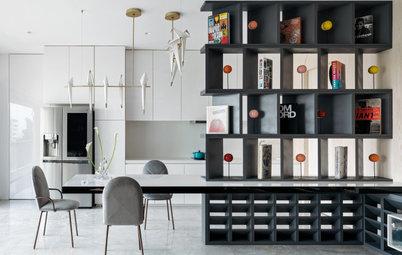 8 Ways to Create a Semi-Open Kitchen