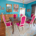 Dazzling Dining Room Eclectic Dining Room Houston