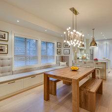 Contemporary Dining Room by Andrea Rodman Interiors