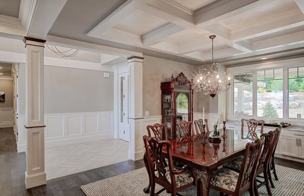 Traditional Dining Room by Don Larkin, Architect, AIA, PLLC