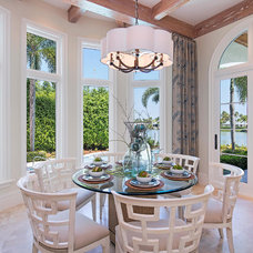 Mediterranean Dining Room by Clive Daniel Home