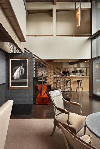 Contemporary Dining Room by Suyama Peterson Deguchi