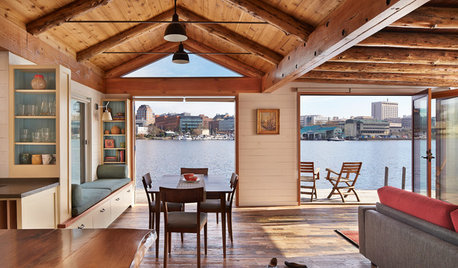 All Aboard a Floating Cabin Home in Seattle