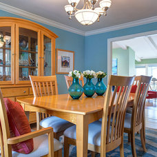 Traditional Dining Room by S&K Interiors