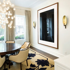 contemporary dining room by Carl Wooley