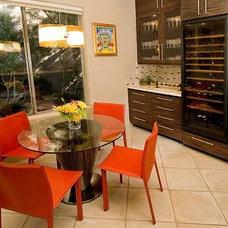 Modern Dining Room by Chimera Interior Design