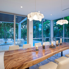 Contemporary Dining Room by ibi designs