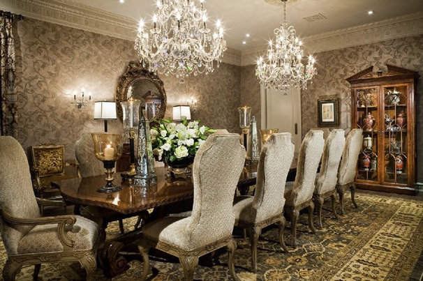 Traditional Dining Room by Jennifer Bevan Interiors