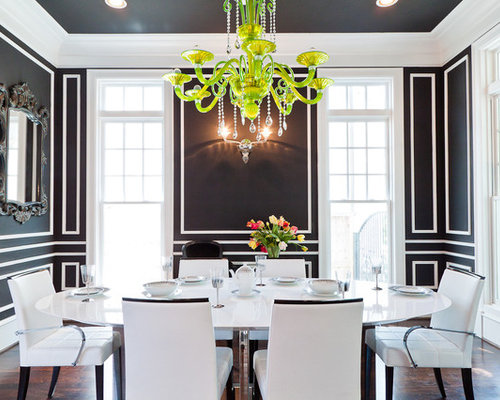 White Dining Room | Houzz