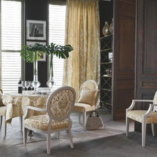 Traditional Dining Room by Oceanview Shades and Drapery