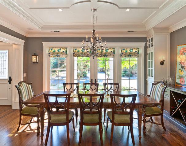Traditional Dining Room Portfolio of Work