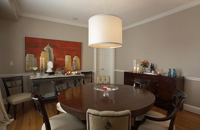 Traditional Dining Room by Patrick J. Baglino, Jr. Interior Design