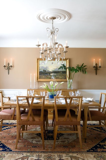 Traditional Dining Room by Steve Wallace Design
