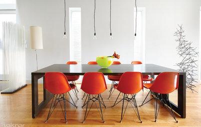 色のインテリア効果:コミュニケーションと団らんに最適な「オレンジ色」