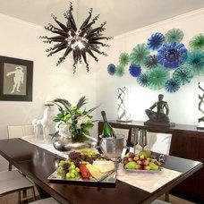 Contemporary Dining Room by Terrance Mason Interiors