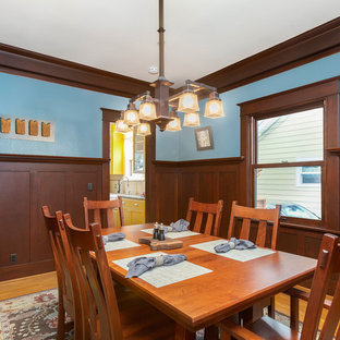 75 Beautiful Craftsman Dining Room Pictures & Ideas | Houzz