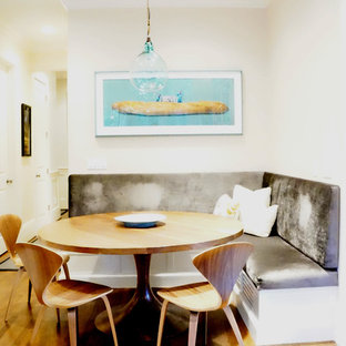 Example of a trendy dining room design in Portland