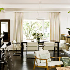 Midcentury Dining Room by Jessica Helgerson Interior Design