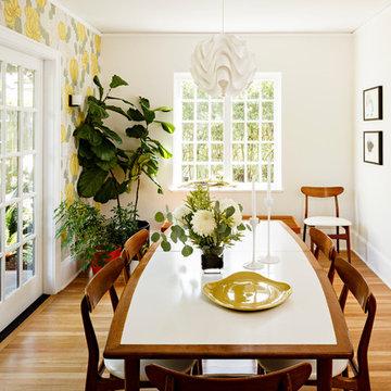 Portland Modern Tudor Dining Room